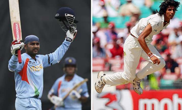sehwag ishant out of england odi series