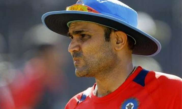 sehwag made a secret visit to london ahead of lord s test