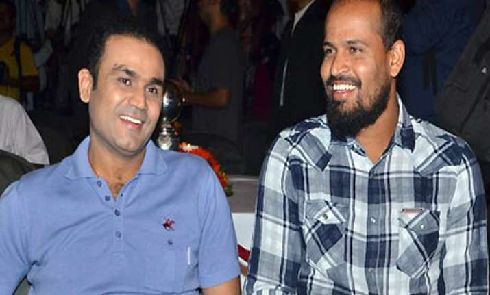 sehwag rested yusuf and dinda recalled in asia cup team