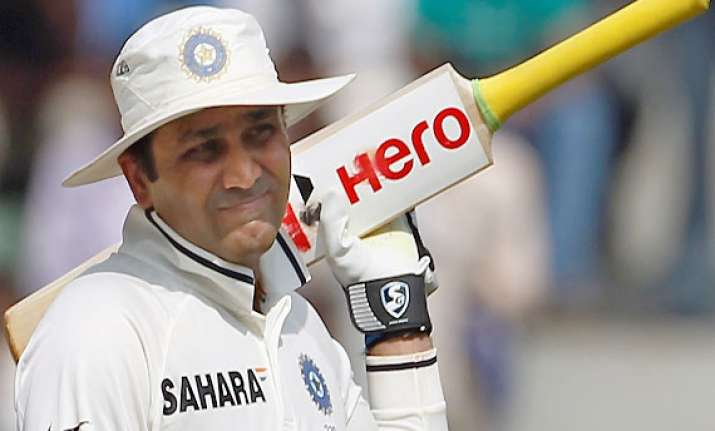 sehwag never happy with eden food