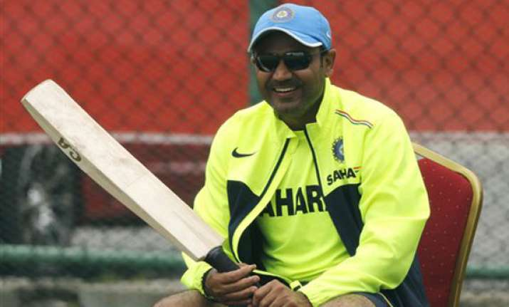 sehwag skips net session again all is not well in indian
