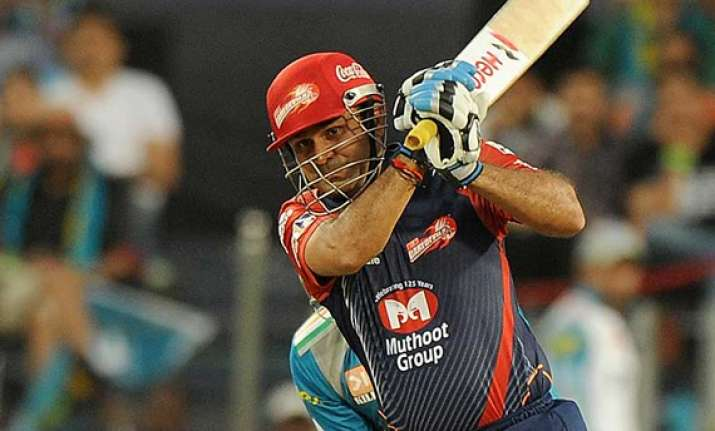 sehwag slams fifty leads dd to easy win over pune
