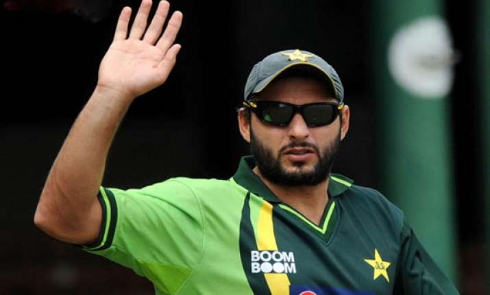 shahid afridi may quit odis after 2015 world cup ap