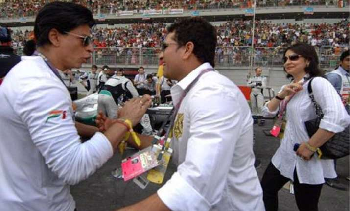shahrukh to watch sachin s last test on tv as ban continues
