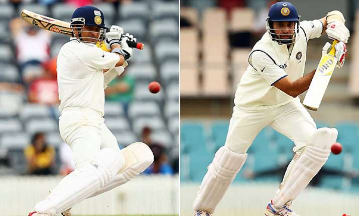indian batsmen get into groove in practice match