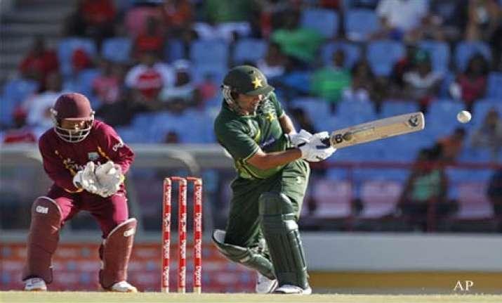 shehzad century steers pakistan to victory