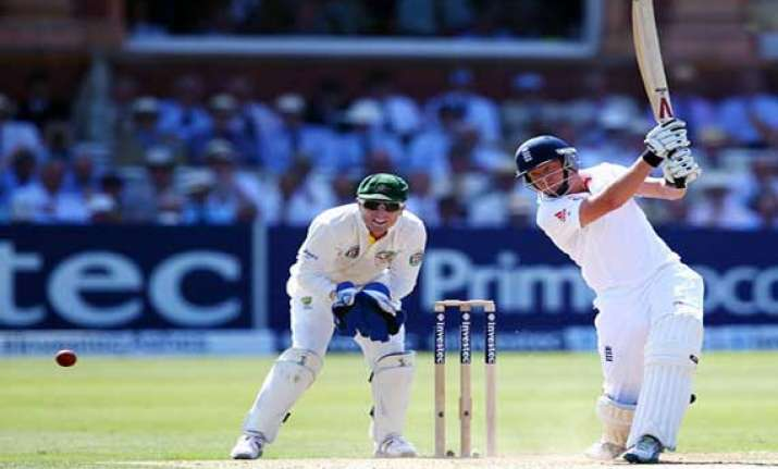 ashes england in command as aussie batting crumbles