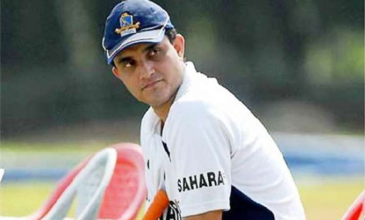 sourav ganguly bats for rotation policy