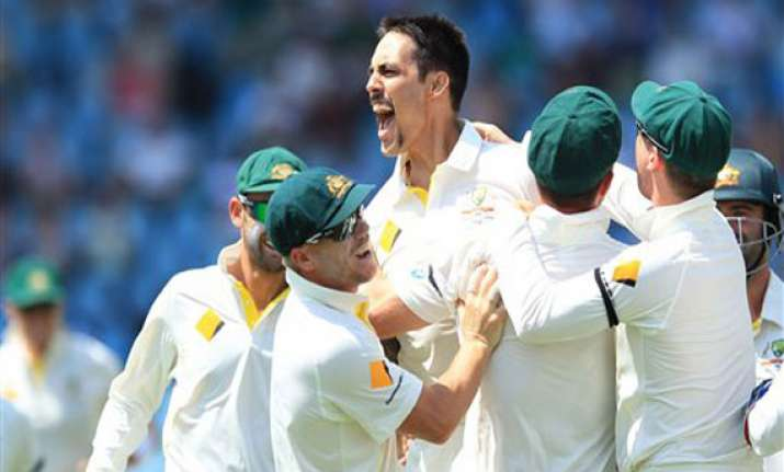 south africa australia scoreboard day 4 1st test