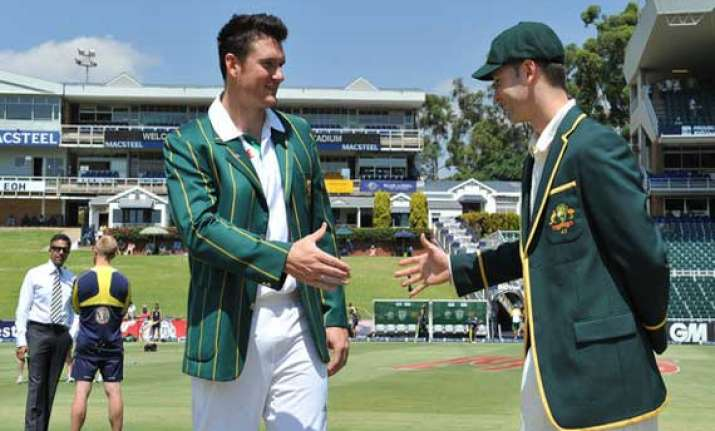 south africa bats 1st rings changes in 2nd test