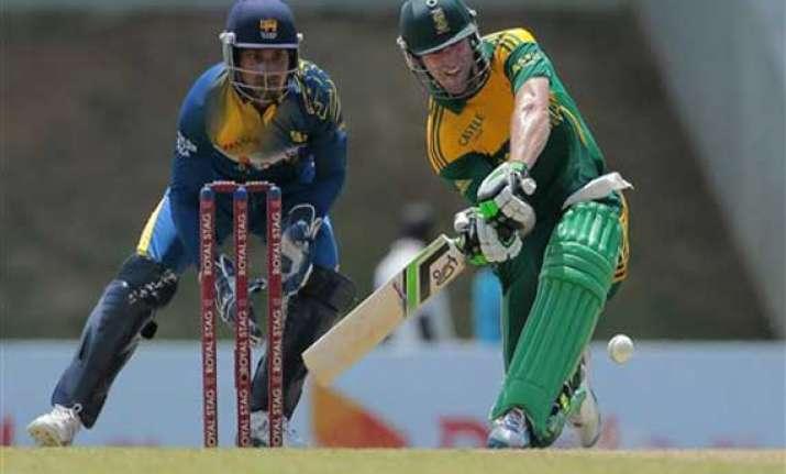 south africa bats first against sri lanka