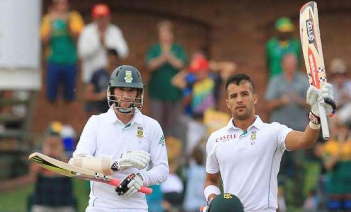 south africa vs australia 2nd test scoreboard day 2