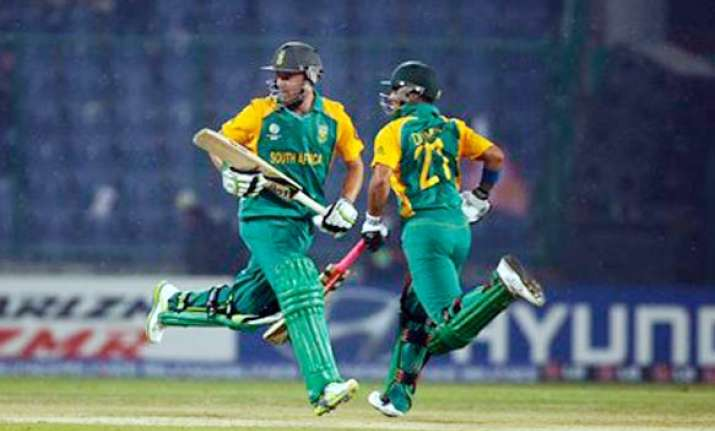 a b de villiers tahir star in sa s 7 wkt win over windies