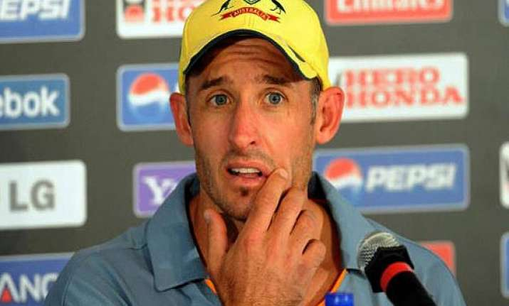 spin to play peripheral role in 2015 world cup hussey