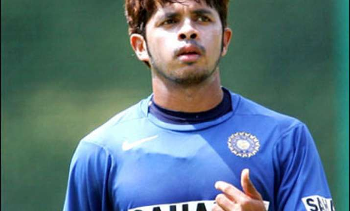 sreesanth has an altercation with ponting