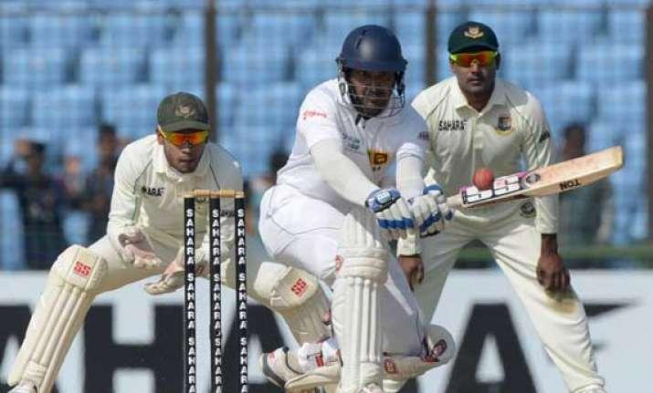 sri lanka bangladesh sri lanka 314 5 day 1 stump 2nd test