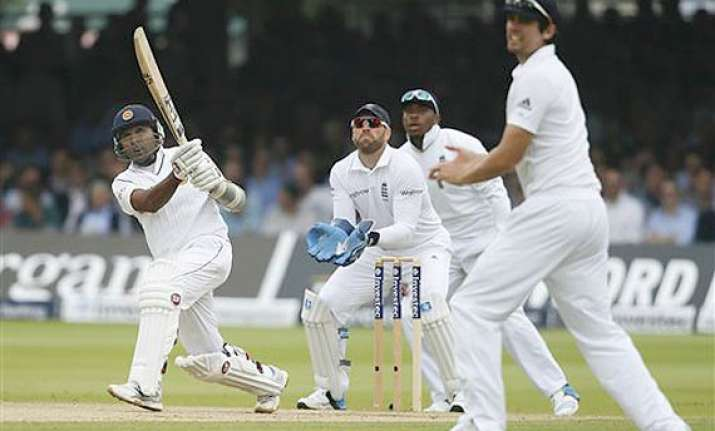 sri lanka on 212 2 at lunch against england