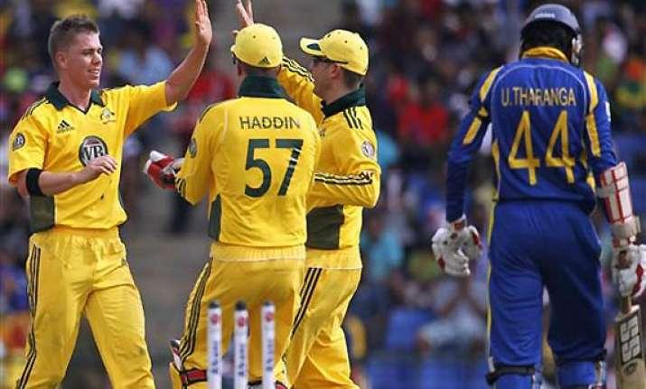 australia beats sri lanka to win odi series