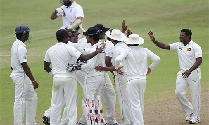 sri lanka grabs breakthrough win in south africa
