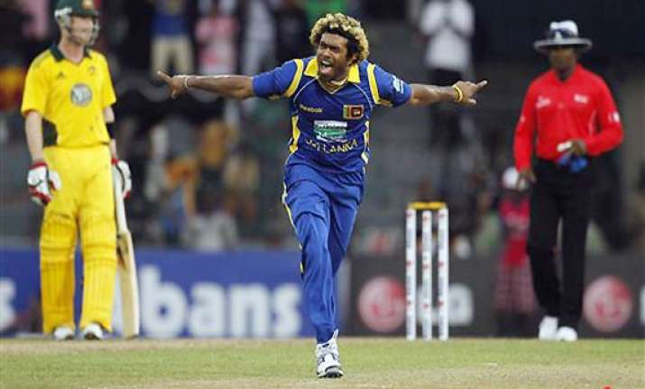 malinga hat trick in sri lanka consolation win