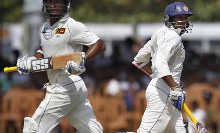 sri lanka reaches 439 8 in 1st test against pakistan
