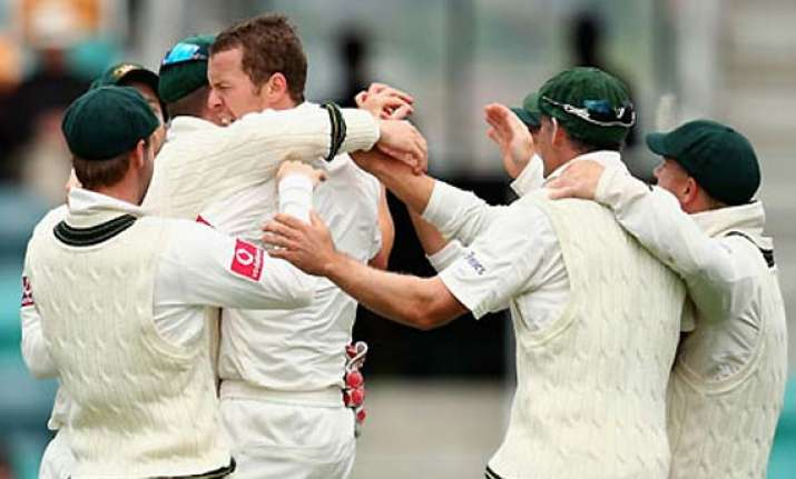 starc siddle bowl australia to thrilling test win