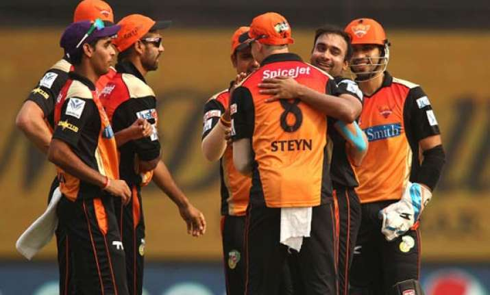 sunrisers plays charity match for cancer patients