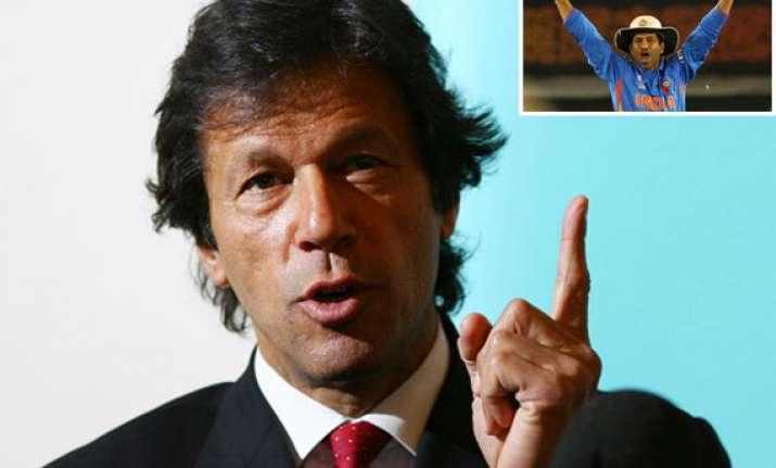 tendulkar should have left after world cup says imran khan