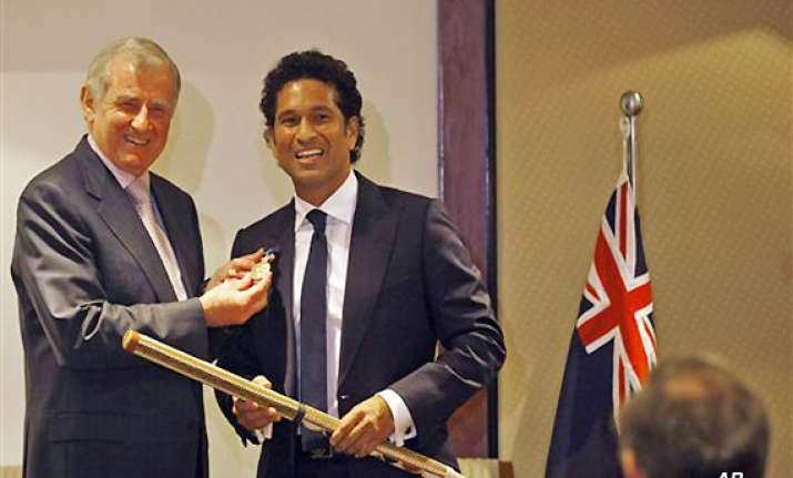 tendulkar presented with order of australia