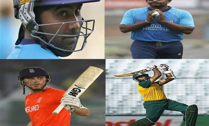 the cricketers who performed well in world t20 but will