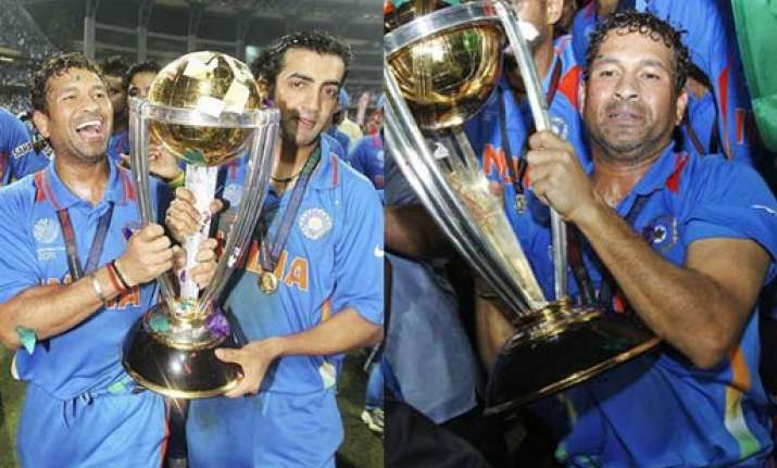 this world cup is for sachin tendulkar says gambhir