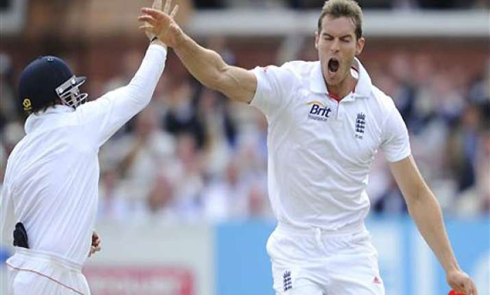 tremlett out of third test against india