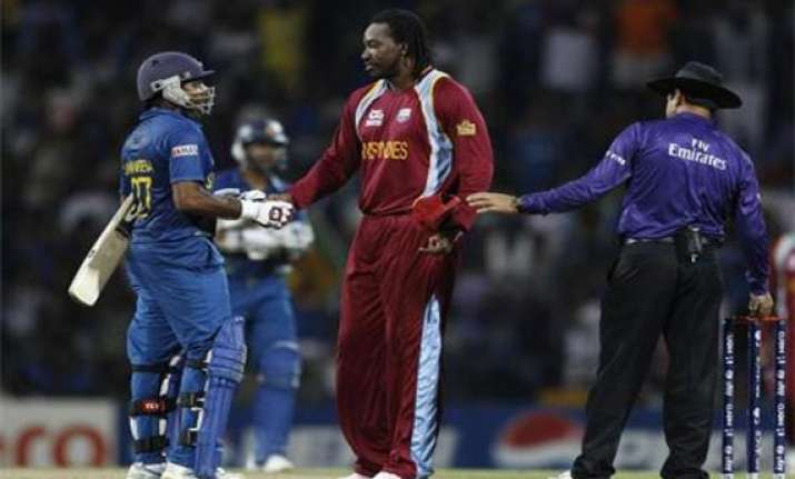 tri series sri lanka west indies match pushed to reserve day
