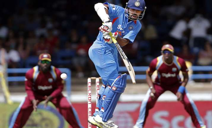 tri series kohli s ton powers india to win over west indies