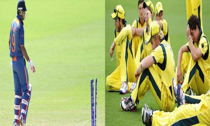 u 19 world cup india australia suffer defeats at warmups