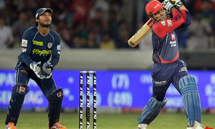 unbelievable knock from sehwag keeps delhi in the hunt