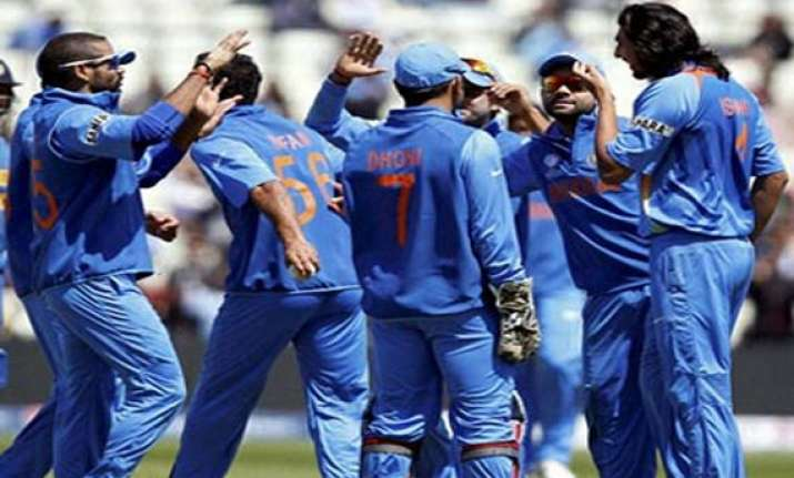 unchanged indian team for west indies tri series