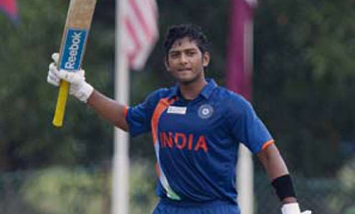 unmukt chand shines as india u 23 beat pak in acc emerging
