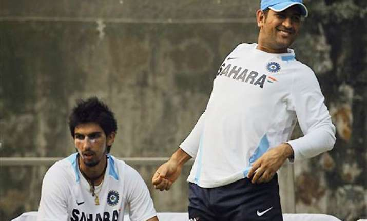 unwell dhoni misses match eve practice but expected to play