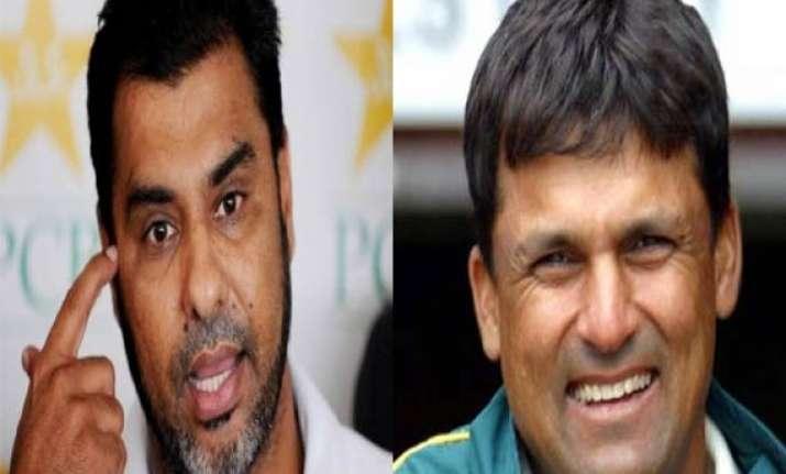 veteran players moin waqar top contenders for pakistan