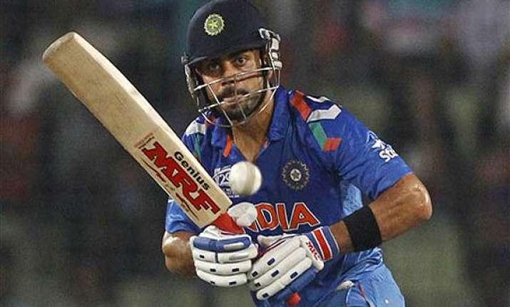 virat kohli a batsman who loves chasing targets