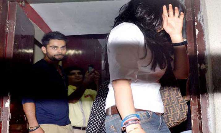virat kohli again spotted with a girl