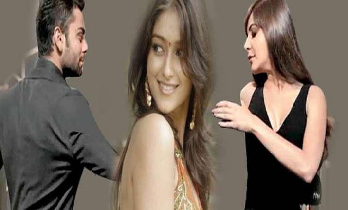 virat gets new girl for ad was affair rumor reason for