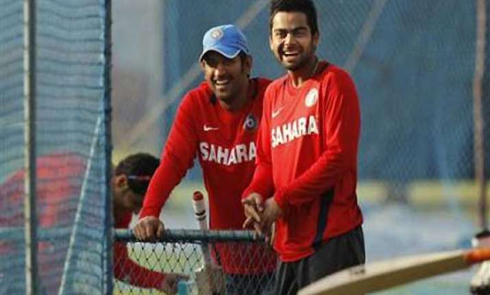 virat kohli dhoni continue to be in top 4 in odis