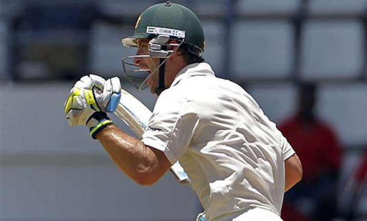 australia in control after wade s ton