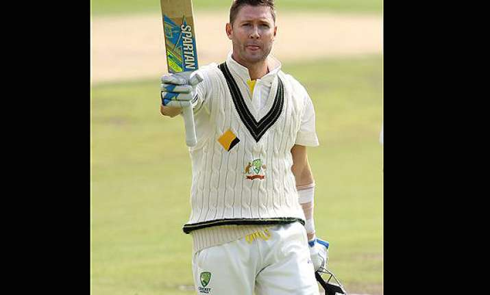 warne impressed with clarke s courage.
