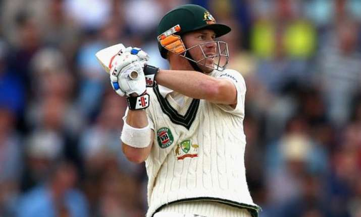 warner hits 197 in od match clarke on the mend