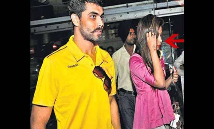 watch images of chetna who stole ravindra jadeja s heart