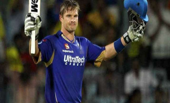 shane watson to lead rajasthan royals in ipl 2014.