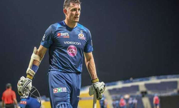 we are not yet out of play off race hussey